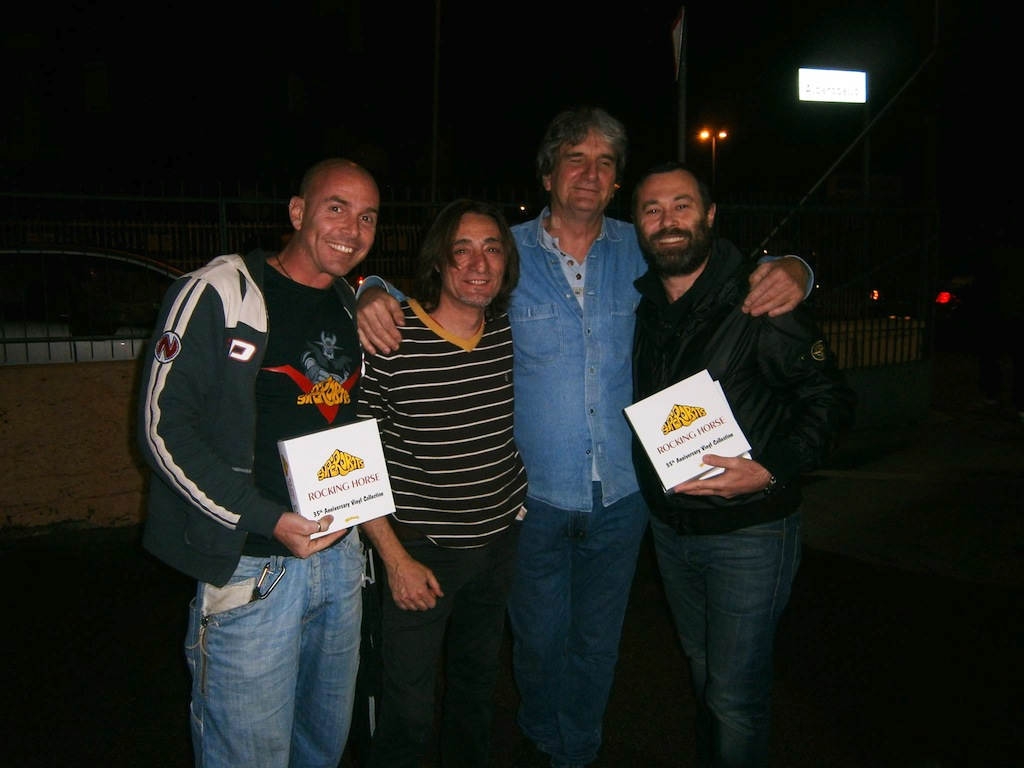 Arnaldo Capocchia, Mick Brill, Germano Massenzio
