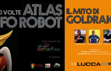 40 volte Ufo Robot Lucca Comics 2018