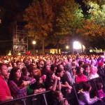 Pubblico al palco