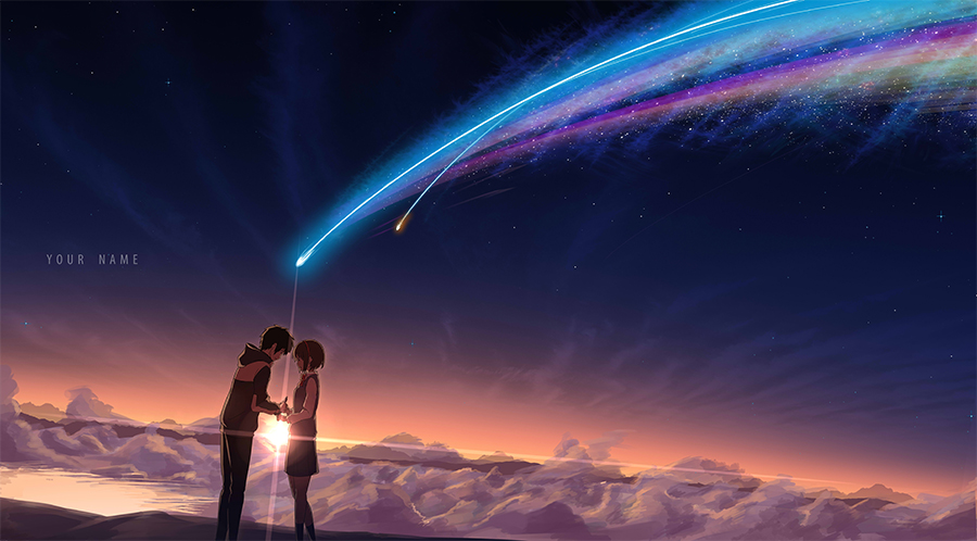 Your Name di Makoto Shinkai wallpaper