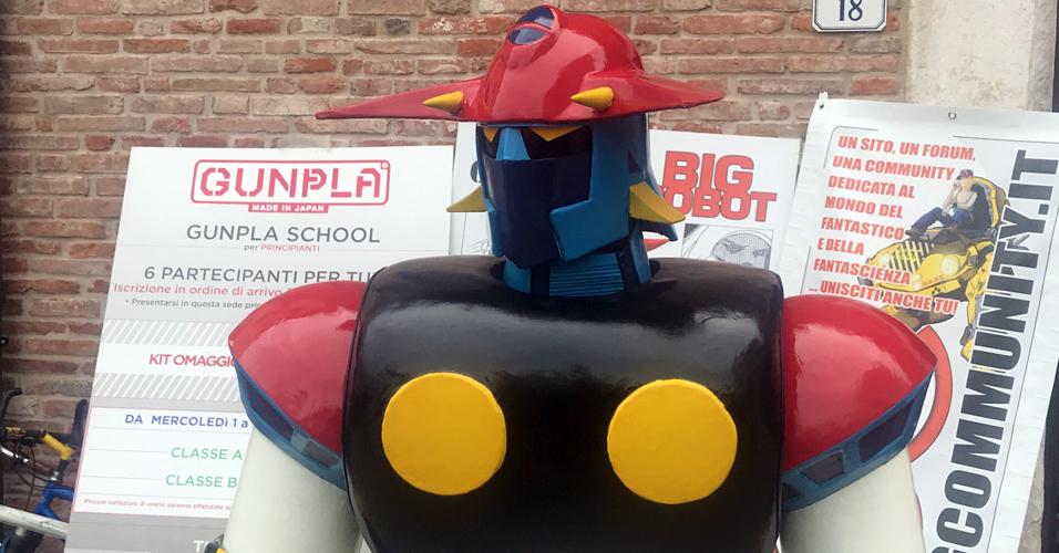 Big Robot a Lucca Comics 2017