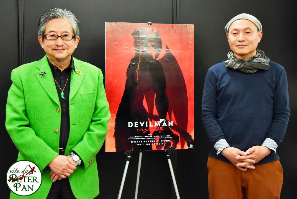 Go Nagai Devilman Crybaby