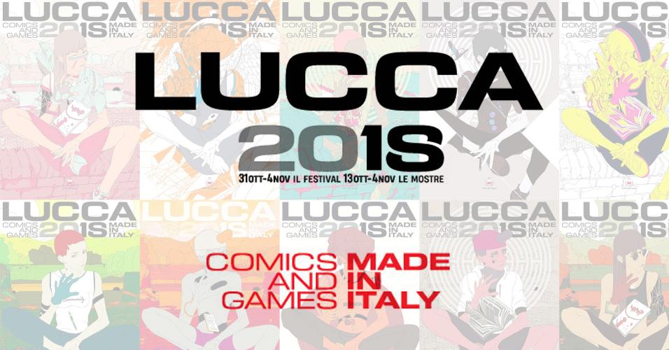 Lucca Comics 2018 Level-Up