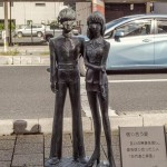 tsuruga-statue-leiji-matsumoto