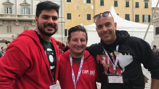 Capitan Napoli Lucca Comics 2018